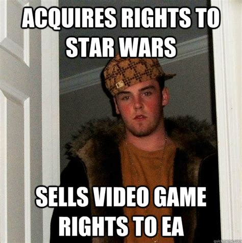 Meme Wars Game - acquires rights to star wars sells video game rights to ea