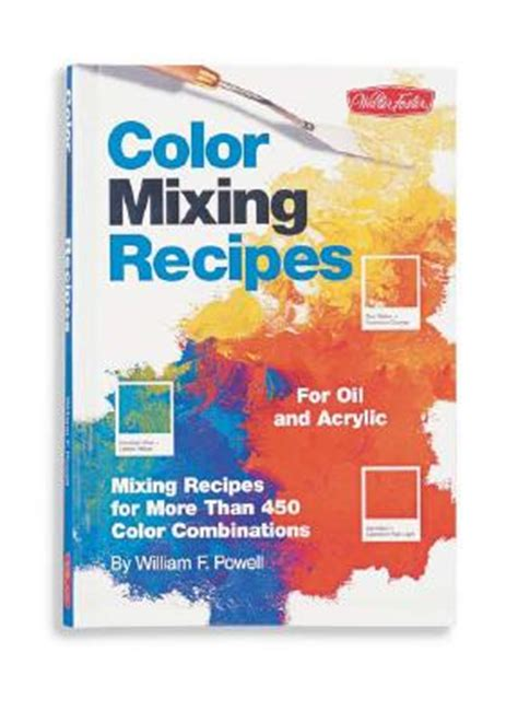 color mixing recipes by powell william f 1560108738 ebay