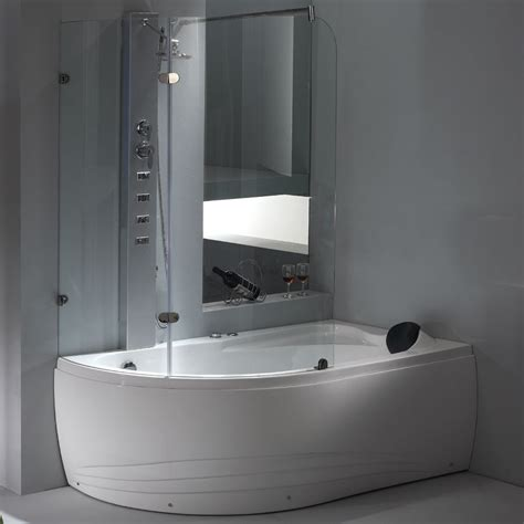 1 bathtub shower bathtubs idea stunning whirlpool tub with shower