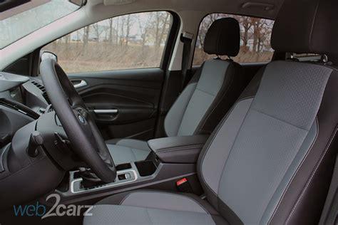 ford escape seats uncomfortable 2017 ford escape se fwd review carsquare