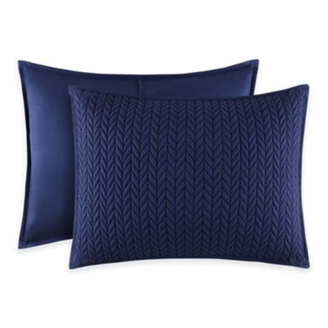 pillow shams bed bath and beyond buy quilted king pillow shams from bed bath beyond