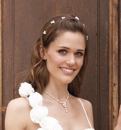 Hochzeitsfrisuren Offen Schulterlang by 28 Hochzeitsfrisuren Mittellanges Haar Offen