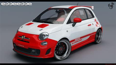 fiat 500 abarth esseesse 2 by rj on deviantart