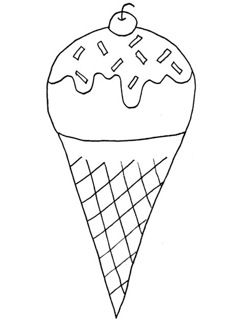 coloring pages for kids ice cream coloring pages