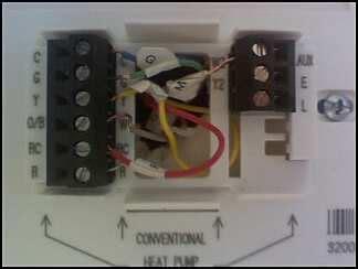 honeywell thermostat rth3100c wiring diagram get free
