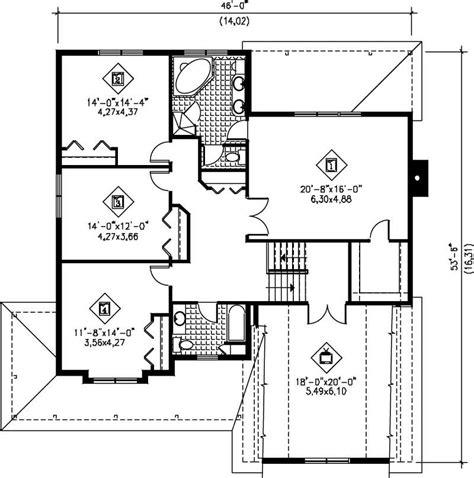multi level house floor plans multi level house plans home design pi 20252 12207