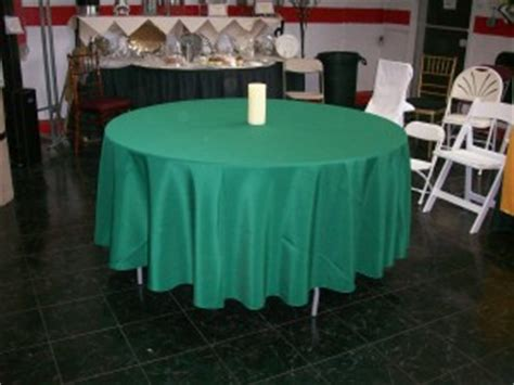 108 tablecloth on 60 table 108 poly solid tablecloth roland l appleton inc