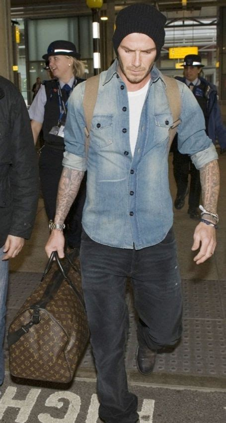 Beckham His Friends Travel by Mr David Beckham And His Keepall And Their