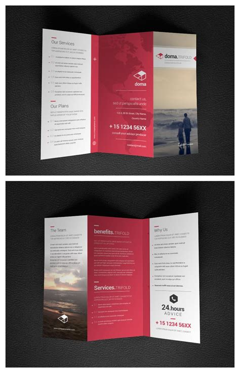 30 really beautiful brochure designs templates for inspiration