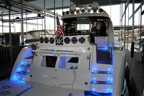tidewater boats expansion powersoft s drive 47 loudspeakers on texan yacht