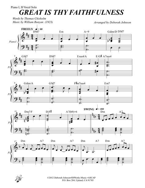 great sheets sheet music