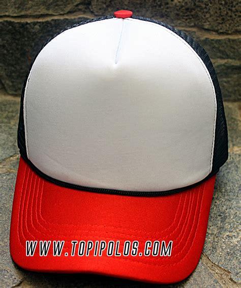 Topi Trucker No Drama Hitam Putih topi polos jaring bagus trucker topi polos