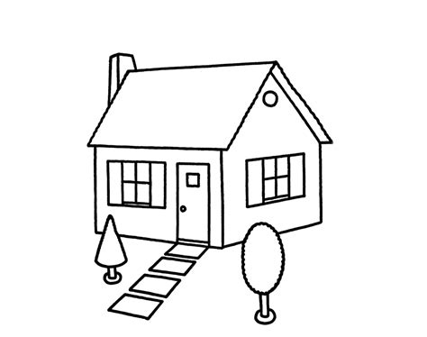 draw house cute house drawing cliparts co