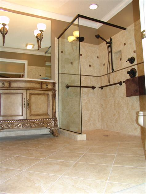 Curbless Shower Design Ideas by European Style Curbless Showers Why And How New Avenue