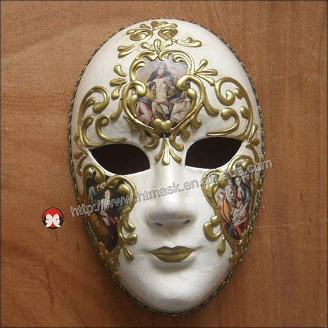 Topeng Mask Lace Misterius venice venetian masquerade musical silver venetian wall decoration masks