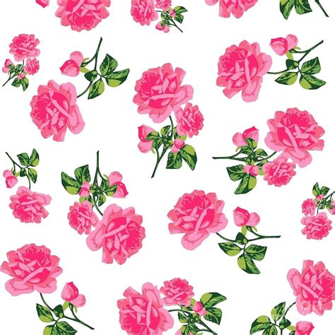 pattern flower pink pink rose pattern