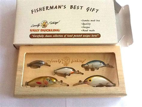 best gift for fisherman quot s samba wood fishing tackle gift