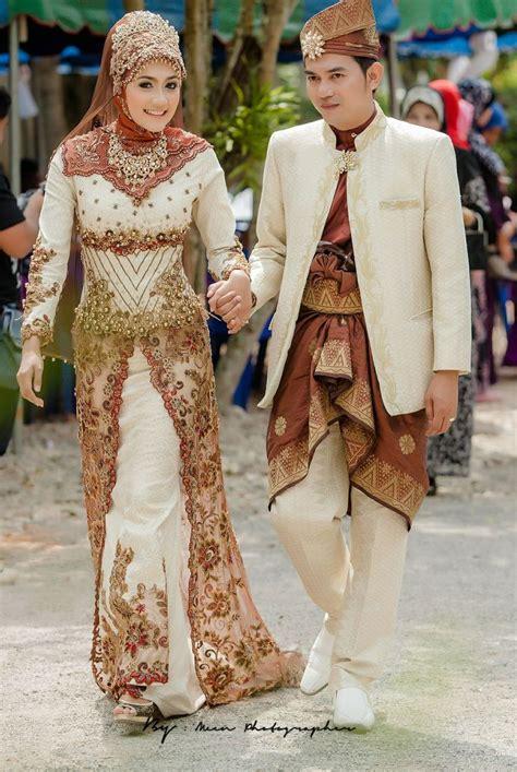 Baju Tunang Elegan contoh model modern untuk kebaya pengantin