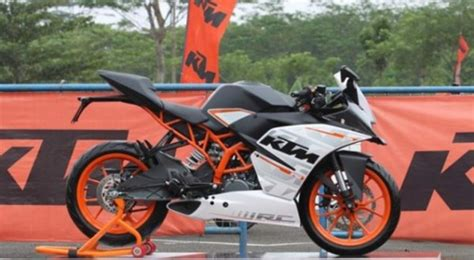 Ktm Motorcycles Indonesia Ktm Rc390 Showcased In Indonesia Launching Date Price