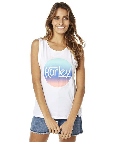 Singlet Hurley Original 12 hurley original krush womens singlet white surfstitch