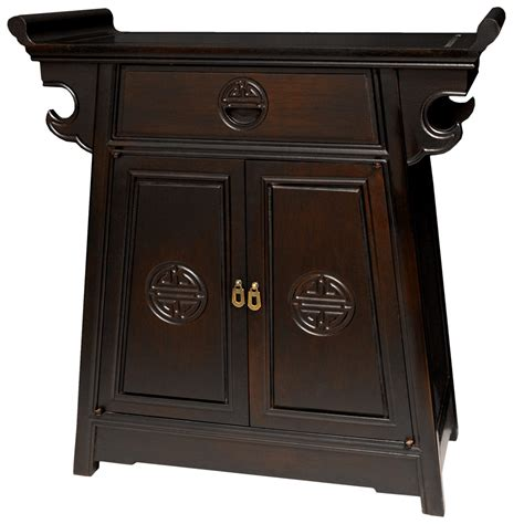 asian furniture rosewood altar cabinet orientalfurniture
