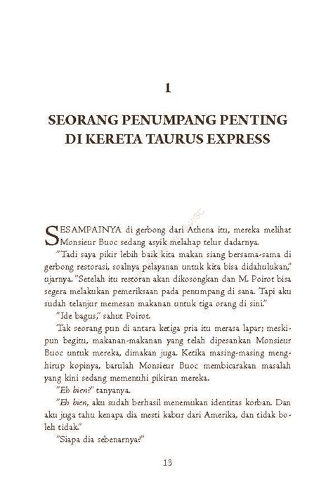 Pembunuhan Di Orient Express Cover By Agatha Christie pembunuhan di orient express murder on the orient express cover book by agatha christie