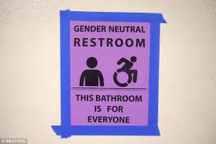 school bathroom laws fight breaks out at la s first gender neutral bathroom at