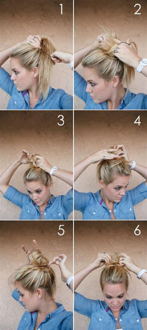 quick hair tutorials    easy morning pretty
