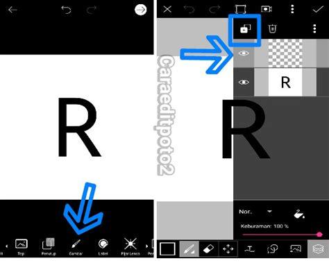cara membuat watermark lewat android cara mudah membuat logo 3d di picsart android