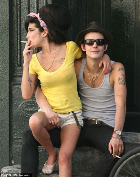 Winehouse And New Hubby In Spat by Winehouse Dead Fielder Civil Quot S Quot S Plea