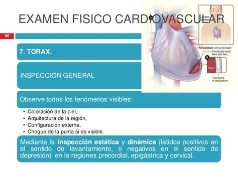 examen fisico general 2 examen fisico cardiologico