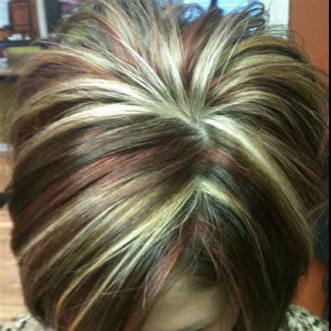 inverted bob chunky highlight 96 best chunky highlights images on pinterest hair color