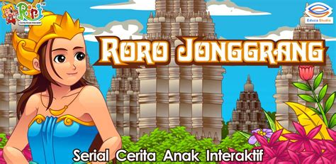 Buku Ceritra Rakyat Rara Jonggrang riri roro jonggrang educa studio learning apps toys toddler apps