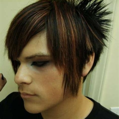 emo hairstyles with highlights 50 cool emo hairstyles for guys men hairstyles world