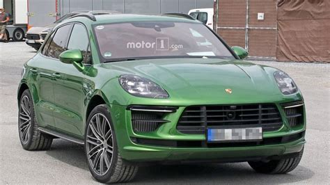 2019 Porsche Macan Turbo by 2019 Porsche Macan Turbo Facelift Photos Motor1