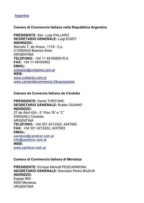 di commercio italiana all estero camere di commercio italiane all estero