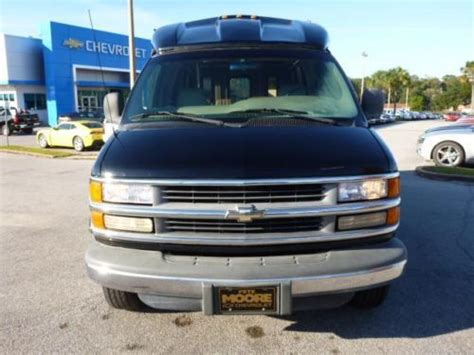 2000 Chevrolet Express Conversion Find Used 2000 Chevy Express Turtle Top 14 Passnger