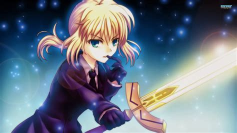 anime fate fate stay night saber hd fate stay night saber anime