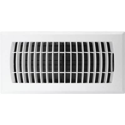 accord ventilation 4 in x 10 in abs finish louvered floor register lowe s canada