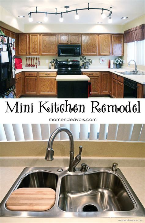 mini kitchen remodel new lighting makes a world of mini kitchen remodel new lighting makes a world of