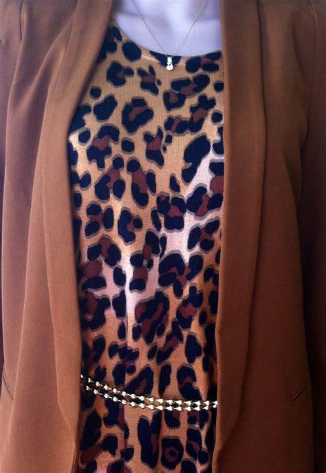 Guess Fashion 02 Gold Brown brown leopard print dress brown blazer my fashion wants