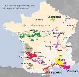 France Wine Regions Map by Map Of French Vineyards Wine Growing Areas Of France