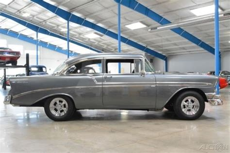 chevy charger 1956 chevrolet bel air resto mod 383 stroker pro charger 4