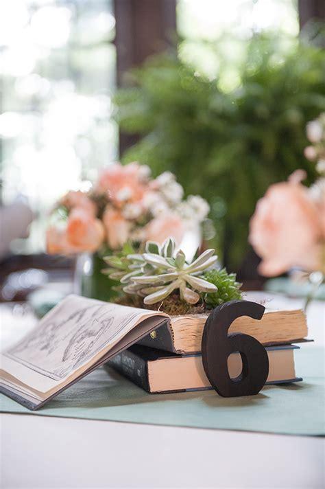 a handmade pastel book themed wedding grace