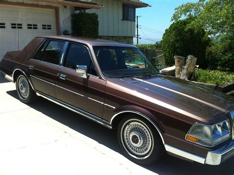 1987 lincoln continental 1987 lincoln continental pictures cargurus