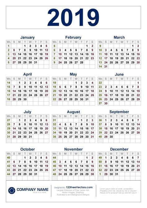 カレンダー ウィーク 2020