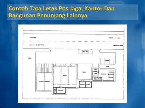 layout kantor pos persyaratan teknis penyediaan tpa sah