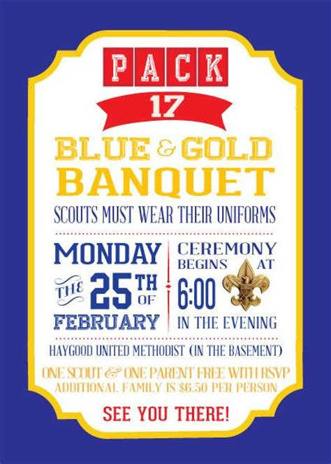 Cub Scout Blue And Gold Program Template by 17 Best Images About Cub Scouts Blue Gold On