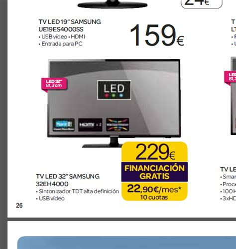Tv Samsung Carrefour harto de carrefour tv samsung 32 quot por 229 m 225 s barato