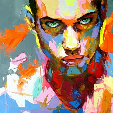 colorful portraits explosive colorful portraits paintings